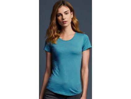 Dámske Tri-Blend tričko