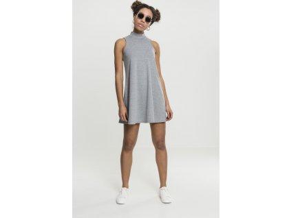 Dámske mini šaty s rolákom Ladies A-Line Turtleneck Dress