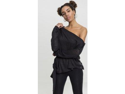 Dámsky asimetrický pulóver Ladies Asymmetric Sweater