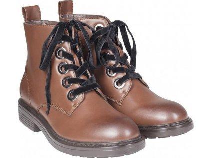 Dámske topánky Velvet Lace Boot