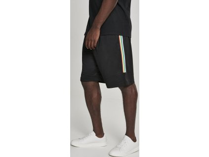 Side Taped Mesh Shorts