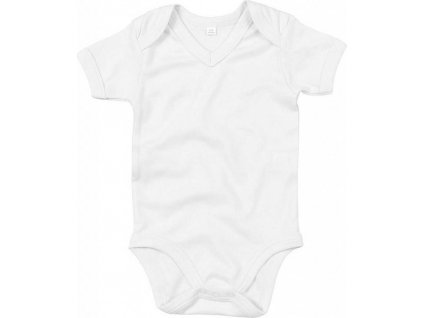 Body pre bábätká V-neck z organickej bavlny