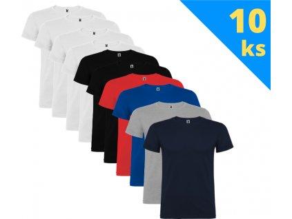 Balík 10 ks detských tričiek