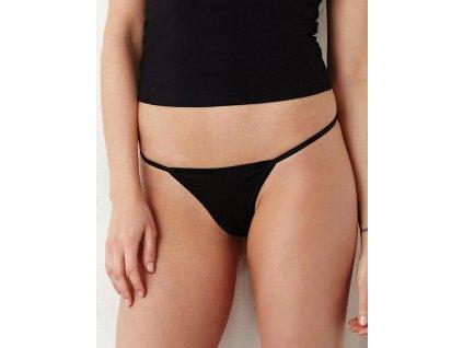Bavlnené Thong bikini so Spandexom