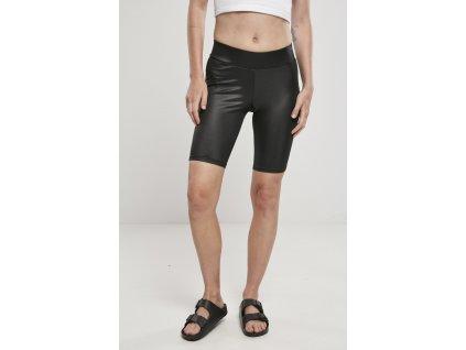 Dámske krátke nohavice Ladies Imitation Leather Cycle Shorts