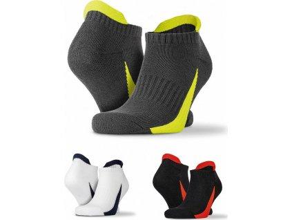 3-balenie športových ponožiek do tenisiek