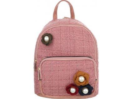 Dámsky ruksak ružový