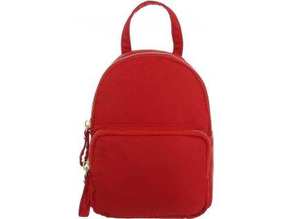 Dámsky ruksak červený