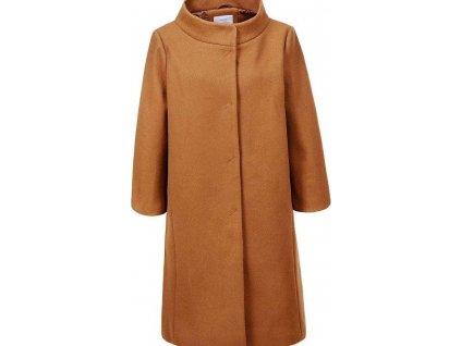 Dámsky kabát camel