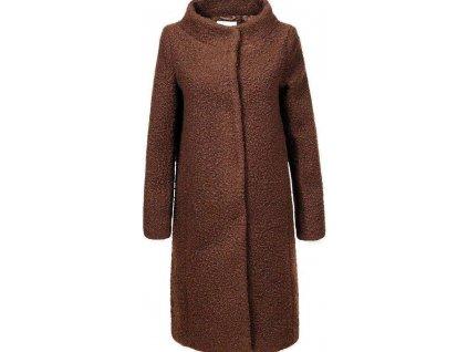 Dámsky kabát khaki