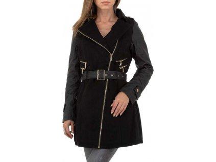 Dámsky kabát čierny