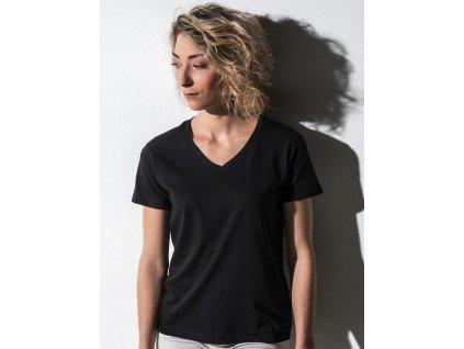 Veronique Dámske tričko s V-výstrihom