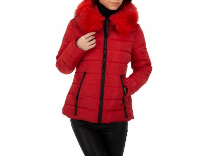 Dámska bunda červená