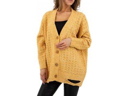 Dámsky sveter žltý