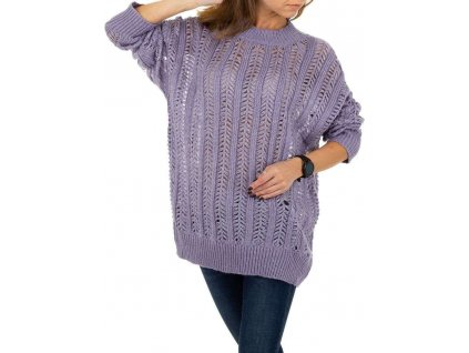 Dámsky pulóver lila