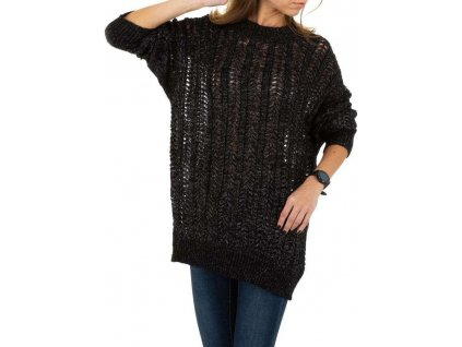 Dámsky pulóver čierny