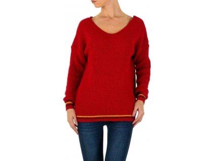 Dámsky pulóver červený