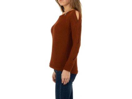 Dámsky pulóver hnedý