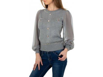 Dámsky pulóver šedý