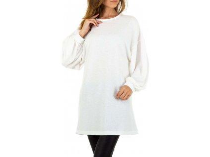 Dámsky pulóver biely