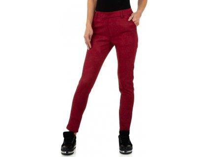 Dámske nohavice červené