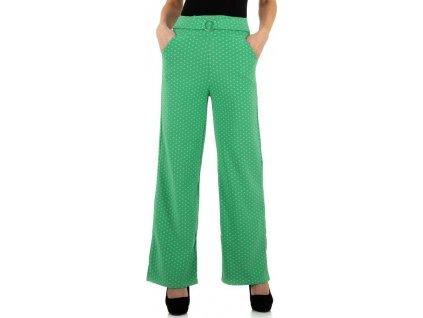 Dámske nohavice zelené