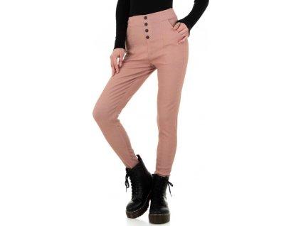 Dámske nohavice ružové