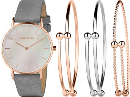 Dámsky darčekový set Pierre Cardin Gift Set Watch & Bracelet PCX7560L304