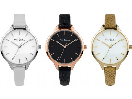 Dámsky darčekový set hodiniek 3 kusy Pierre Cardin Gift Set Watch 3 Styles PCX7967L364