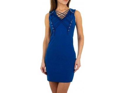 Dámske mini šaty modré