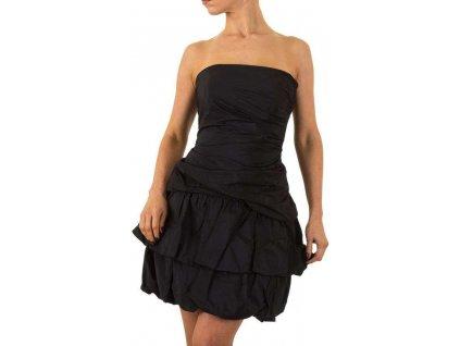 Dámske koktejlové šaty čierne