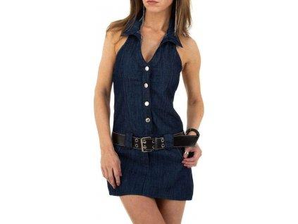 Dámske rifľové šaty modré FV667