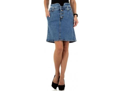 Dámska rifľová sukňa modrá
