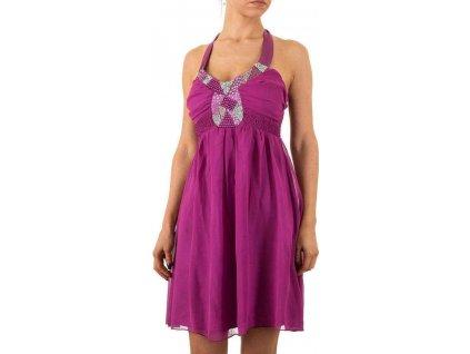 Dámske krátke šaty ružové