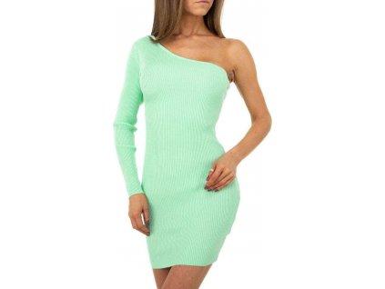 Dámske krátke šaty zelené