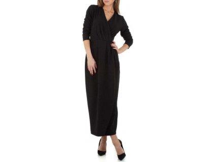Dámske dlhé šaty čierne