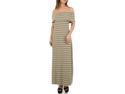 Dámske dlhé šaty multi