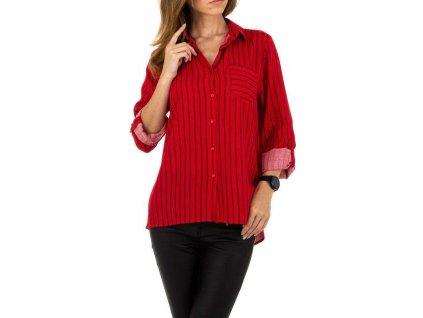 Dámska košeľa červená