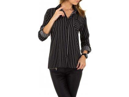Dámska košeľa čierna