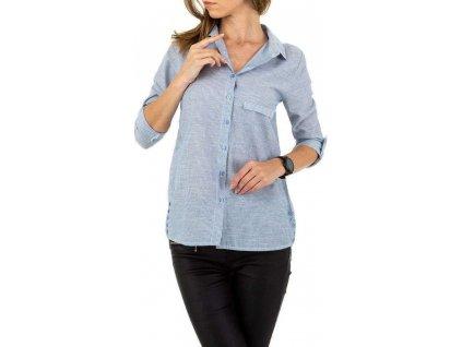 Dámska košeľa modrá