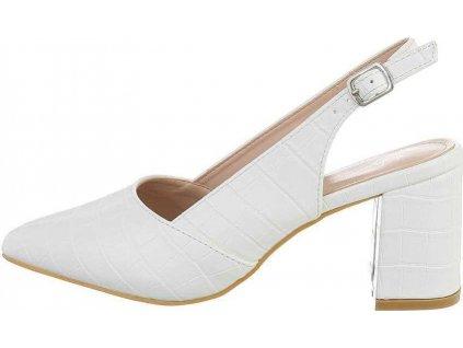 Dámske sandále biele