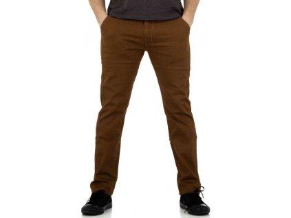Pánske nohavice hnedé