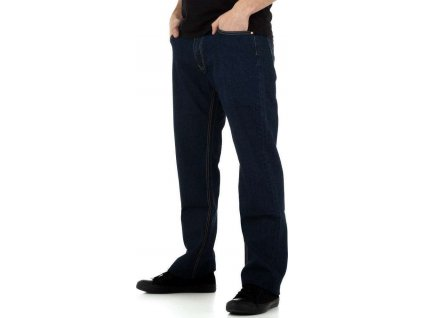 Pánske nohavice tmavomodré