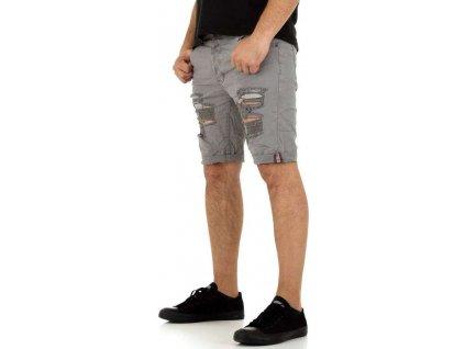 Pánske šortky šedé
