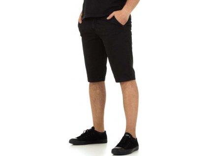 Pánske rifľové šortky čierne