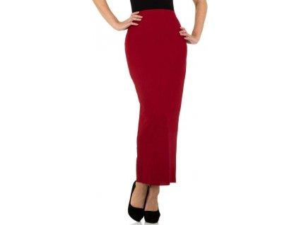 Dámska sukňa červená