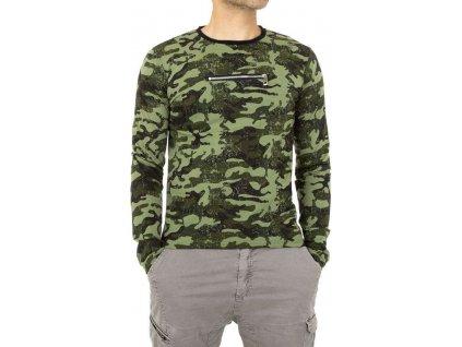 Pánske tričko khaki