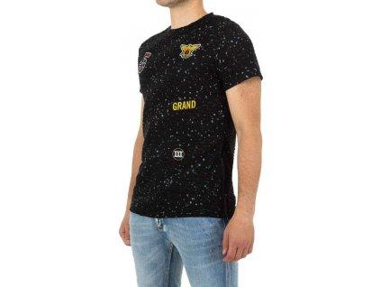 Pánske tričko čierne