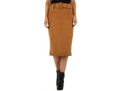 Dámska sukňa hnedá