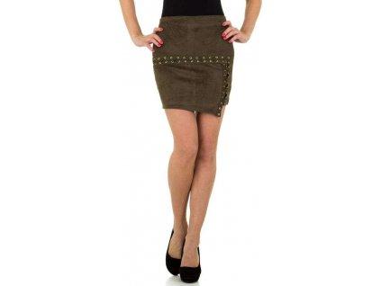 Dámska sukňa khaki